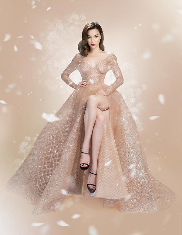 Hồ Ngọc Hà muốn hóa nữ thần bằng váy