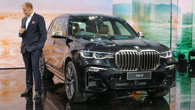 """""""Khủng long"""" BMW X7 chào sân Đông Nam Á với giá bán từ 6,5 tỷ đồng - 4"""