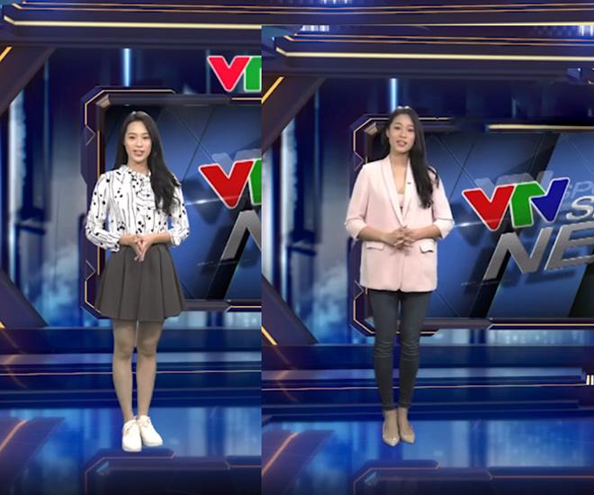 Mới 18 tuổi, Người đẹp biển Hoa hậu VN đã về VTV dẫn tin thể thao - 2