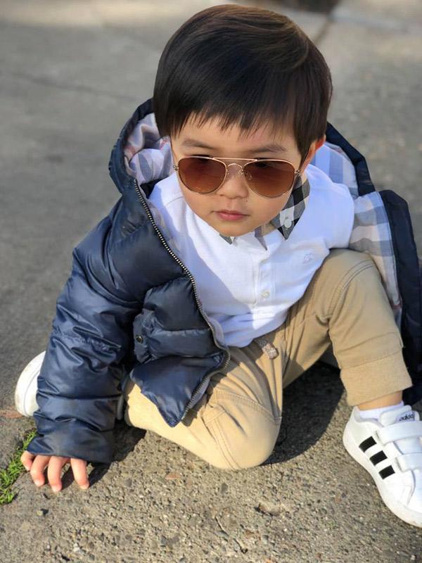 """Mới 2 tuổi, con trai Đan Trường đã đầy quần áo hàng hiệu, xứng danh """"Rick Kid"""" - 5"""