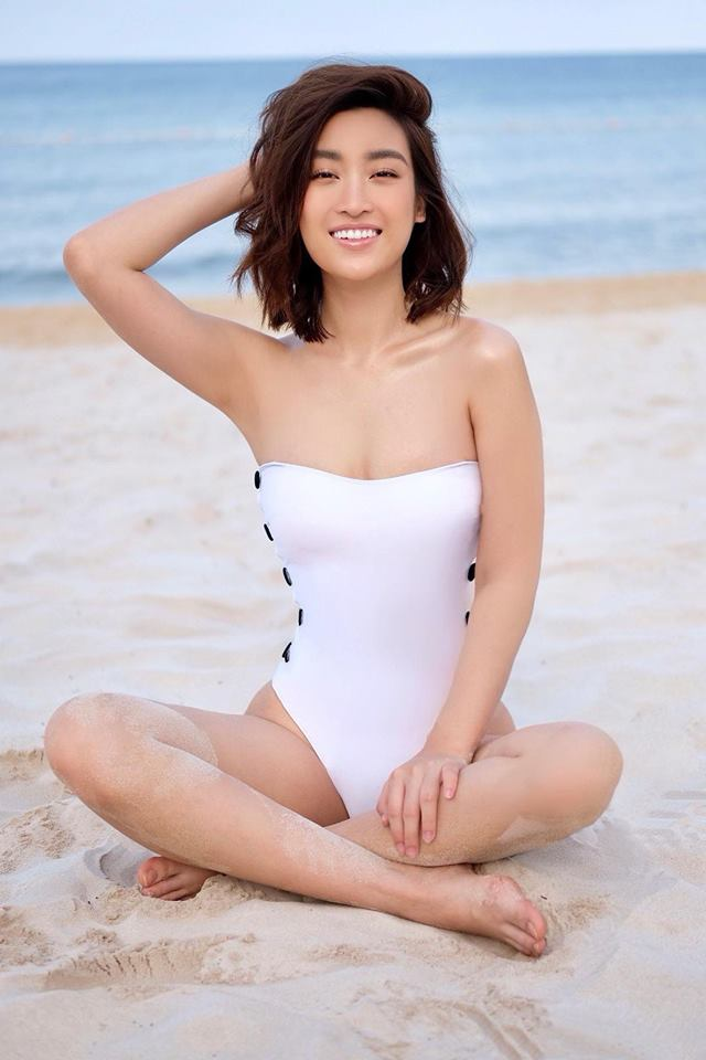 """Đỗ Mỹ Linh, Phương Khánh, Hồ Ngọc Hà """"đụng hàng"""" một bộ đồ tắm - 4"""
