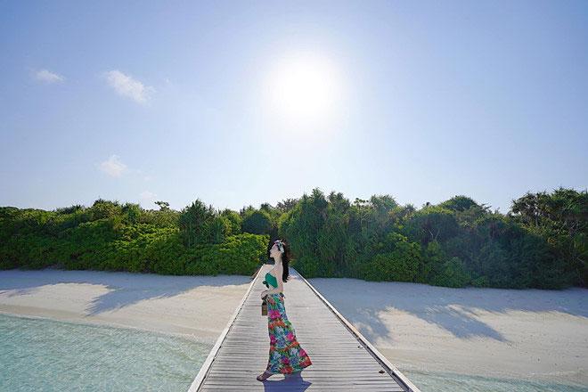 Khám phá thiên đường biển Maldives qua bộ ảnh sang chảnh của cựu hoa khôi báo chí - 12