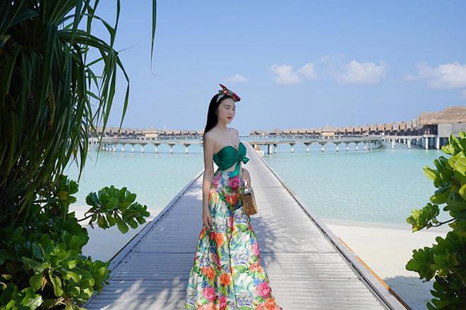 Khám phá thiên đường biển Maldives qua bộ ảnh sang chảnh của cựu hoa khôi báo chí - 3