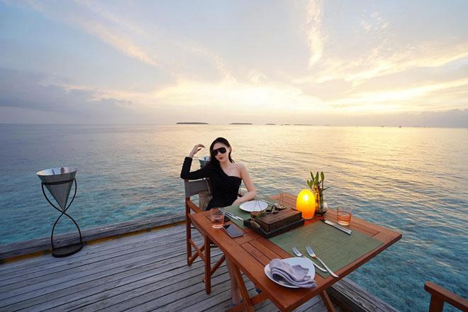 Khám phá thiên đường biển Maldives qua bộ ảnh sang chảnh của cựu hoa khôi báo chí - 4