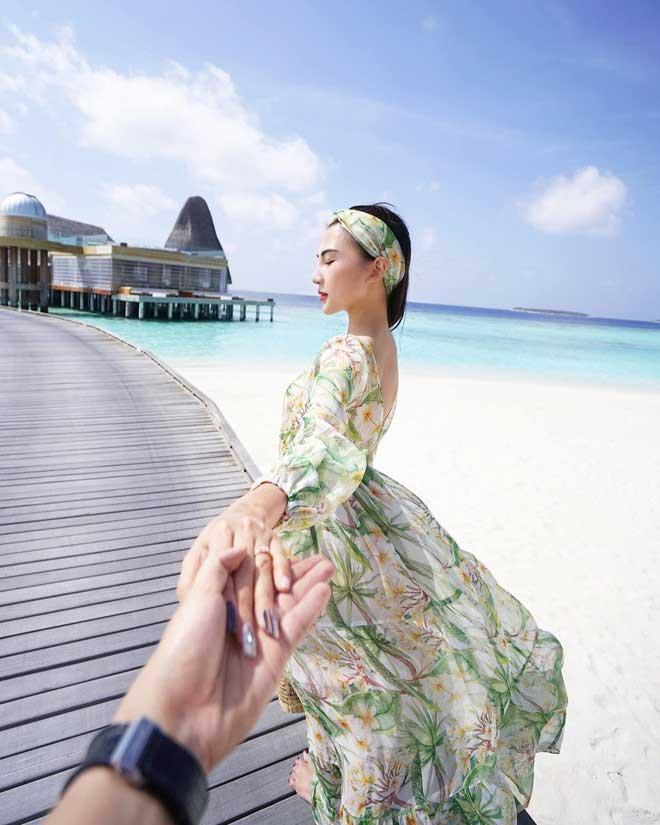 Khám phá thiên đường biển Maldives qua bộ ảnh sang chảnh của cựu hoa khôi báo chí - 8