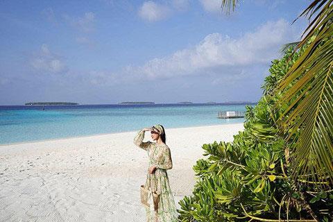 Khám phá thiên đường biển Maldives qua bộ ảnh sang chảnh của cựu hoa khôi báo chí - 10