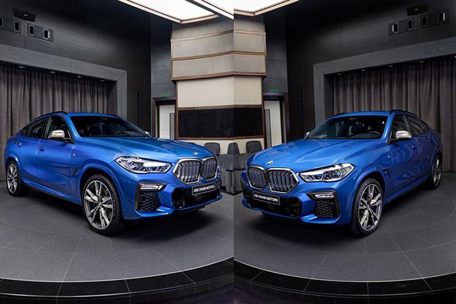 Cận cảnh BMW X6 M50i màu xanh Riverside Blue, giá từ 1,98 tỷ đồng