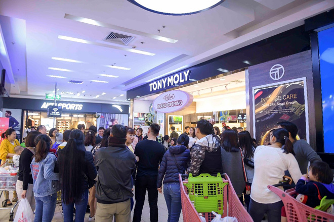 Hãng mỹ phẩm Hàn Quốc Tonymoly khai trương tại Big C Thăng Long và Aeon Mall Hà Đông - 2