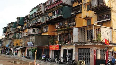 """Cải tạo chung cư cũ ở Hà Nội: """"Bài toán khó"""" sắp có lời giải? - 1"""