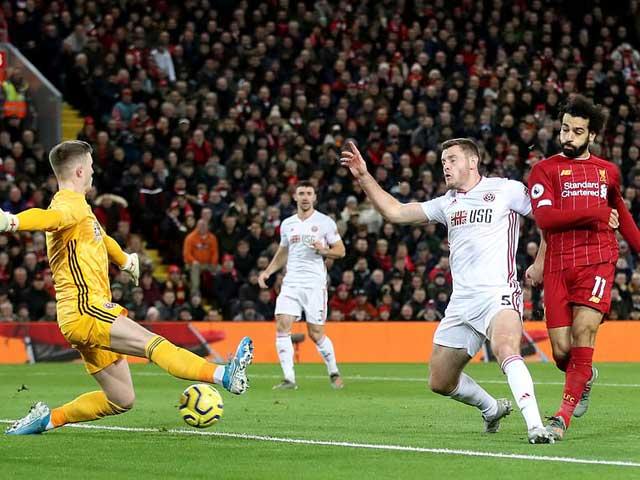 """Video highlight trận Liverpool – Sheffield United: """"Song tấu"""" lên tiếng, hú vía phút cuối - 1"""