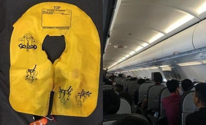 """Bị phạt nặng vì """"nhanh nhảu"""" xé vỏ áo phao khi vừa lên máy bay"""