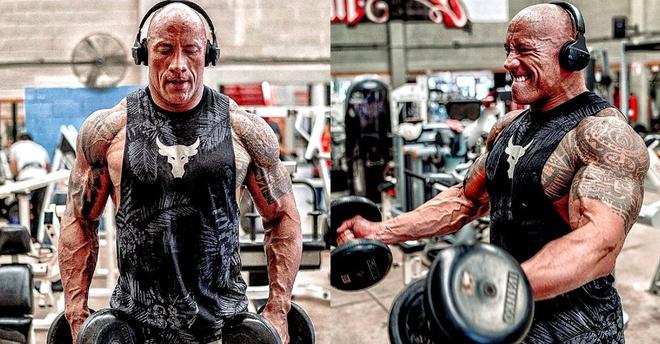 Núi cơ bắp của The Rock xứng đáng là thần tượng của cánh đàn ông - 1