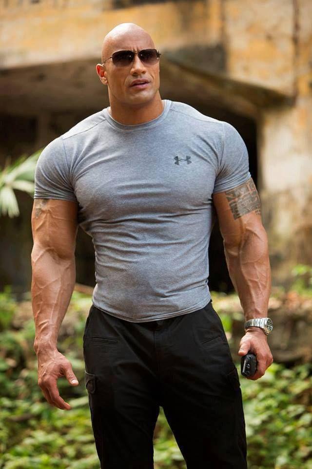 Núi cơ bắp của The Rock xứng đáng là thần tượng của cánh đàn ông - 6