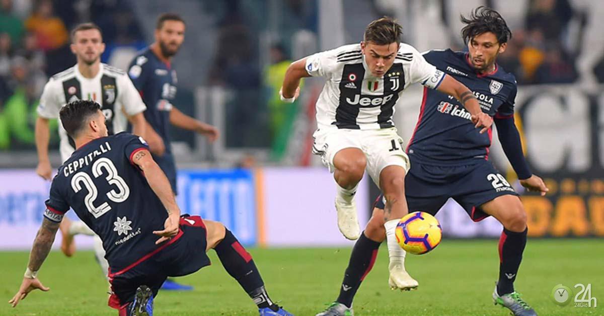 Trực tiếp bóng đá Juventus - Cagliari: Khởi đầu suôn sẻ, chờ Ronaldo tỏa sáng