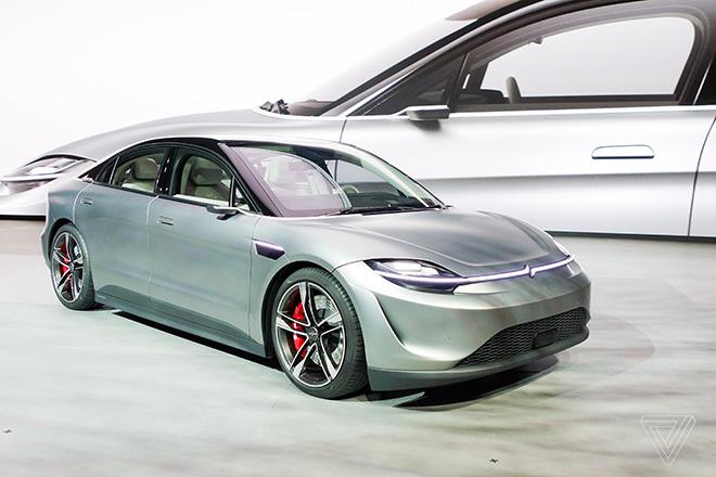 Hãng Sony lấn sân sang sản xuất ô tô động cơ điện - 1