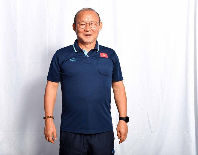 """HLV Park Hang Seo và dàn SAO U23 Việt Nam """"cực ngầu"""" trước ống kính - 1"""