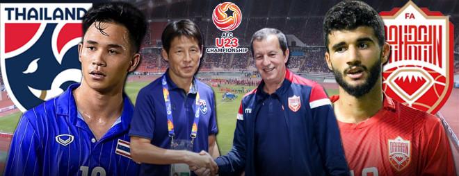 Nhận định bóng đá U23 Thái Lan – U23 Bahrain: Chủ nhà ra oai, mục tiêu 3 điểm