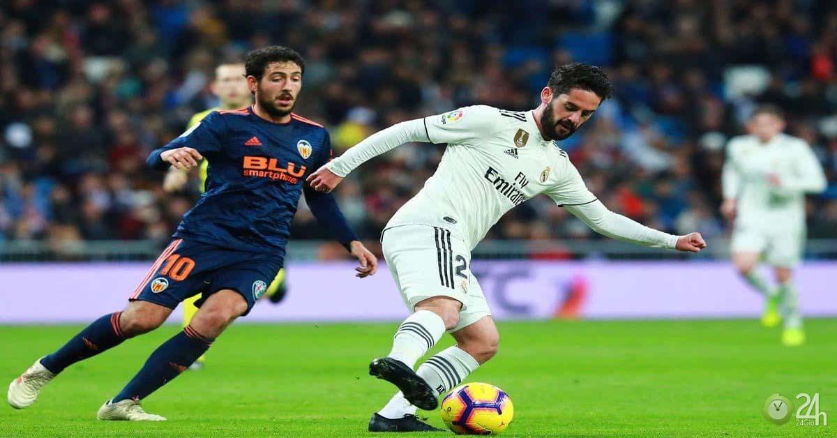Trực tiếp bóng đá Real Madrid - Valencia: Khó khăn chờ thầy trò Zidane