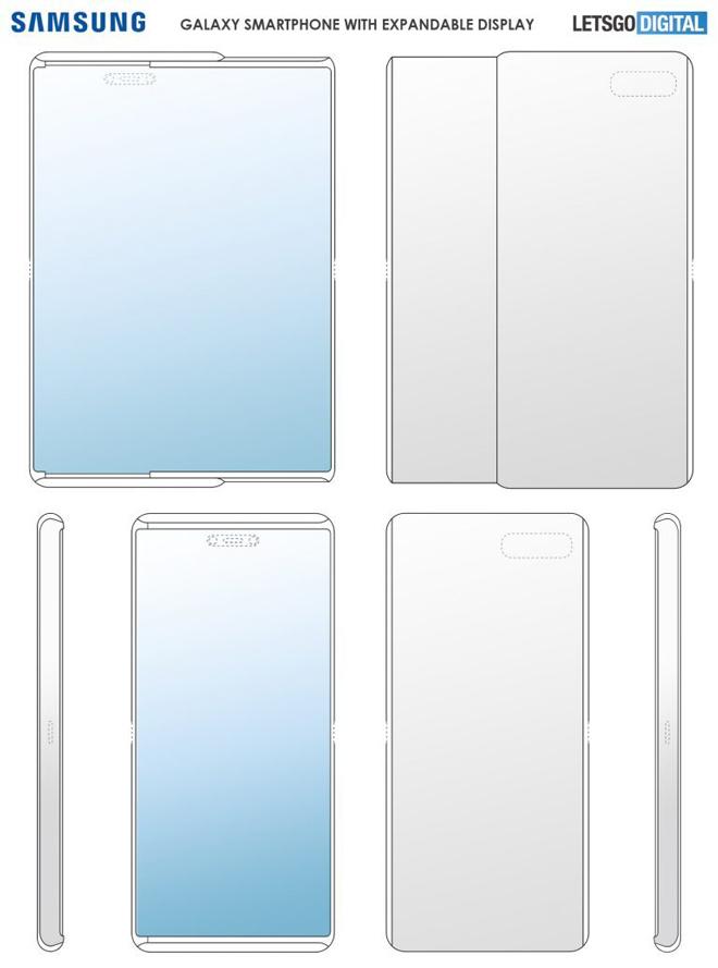 Samsung chuẩn bị gây bất ngờ với smartphone có màn hình trượt - 3