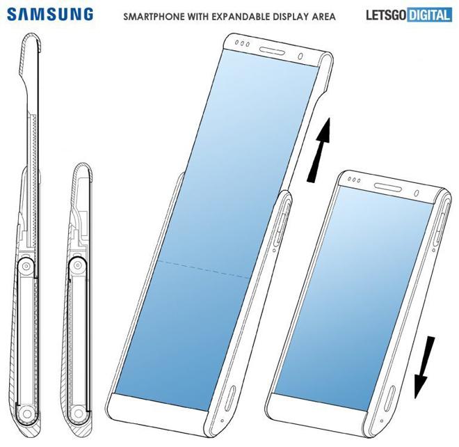 Samsung chuẩn bị gây bất ngờ với smartphone có màn hình trượt - 4