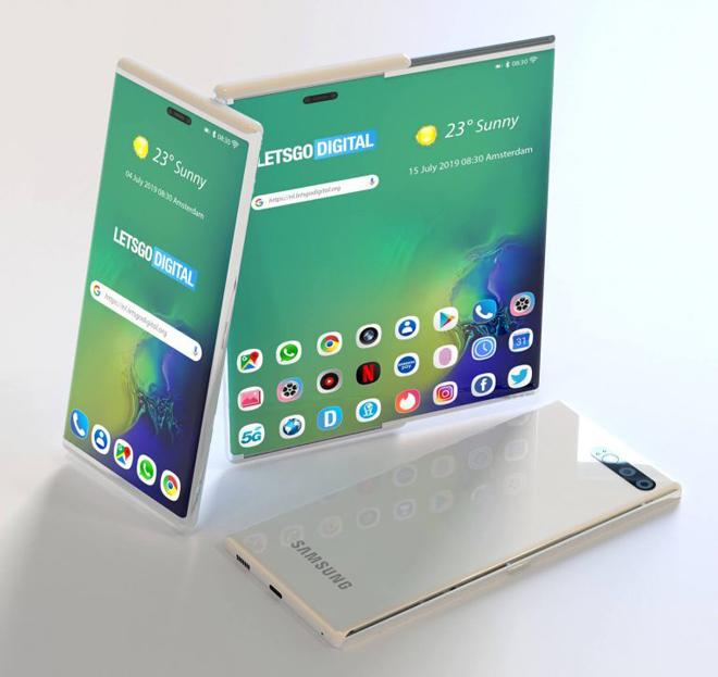 Samsung chuẩn bị gây bất ngờ với smartphone có màn hình trượt - 2