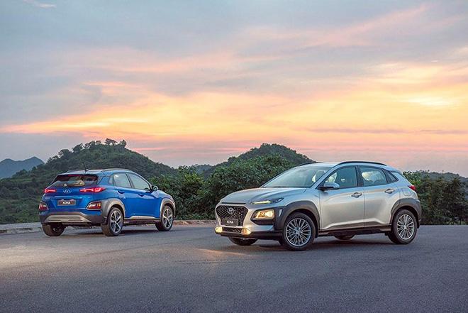 Hyundai Kona vươn lên vị trí thứ 3 trong bảng doanh số xe bán ra của TC Motor - 3