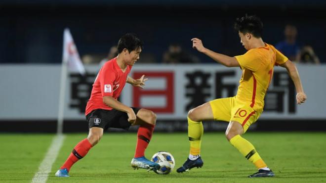 Video highlight trận U23 Hàn Quốc - U23 Trung Quốc: Chống trả kiên cường, người hùng phút bù giờ - 1