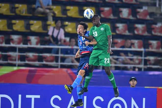 Video highlight trận U23 Nhật Bản - U23 Saudi Arabia: Chuyền hỏng chí mạng, định đoạt penalty - 1