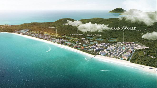 """Grand World Phú Quốc: Thành phố mua sắm """"không ngủ"""" đầu tiên tại Đảo Ngọc - 2"""