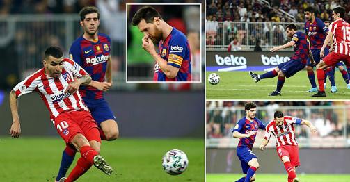 """Video highlight trận Barcelona - Atletico Madrid: """"Ác mộng"""" VAR, 5 bàn không tưởng"""