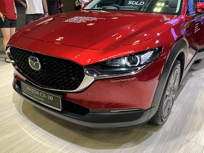 Cận cảnh Mazda CX-30 tại Singapore Motor show, giá từ 2,12 tỷ đồng - 5
