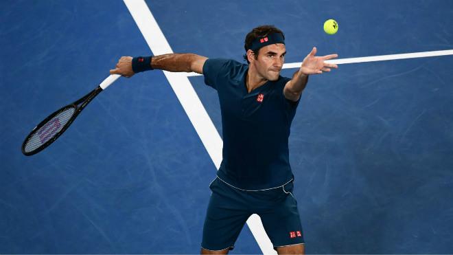 Tennis 24 7 Federer Sớm đến Uc Luyện Cong đấu Nadal Djokovic