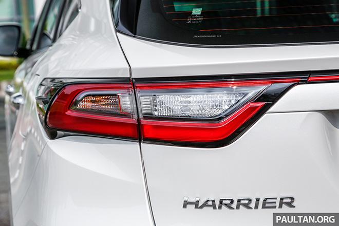 Toyota Harrier - crossover cỡ C mới, đối thủ của Honda CR-V và Mazda CX-5 - 7