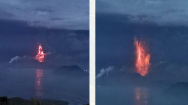 """Philippines """"đóng cửa"""" thủ đô, 20 vạn người phải sơ tán vì núi lửa phun trào như cảnh tận thế - 1"""