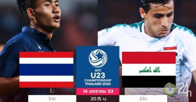 Nhận định bóng đá U23 Thái Lan - U23 Iraq: Chủ nhà lo thảm họa bị loại sớm-Bóng đá 24h