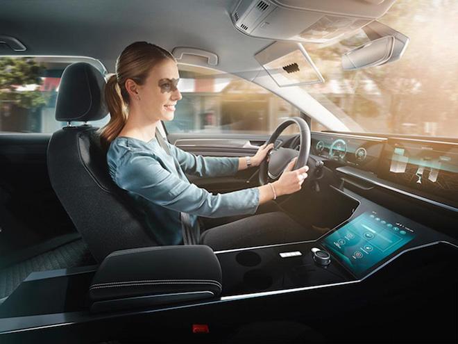 Công nghệ mới hỗ trợ người lái xe không bị chói ánh sáng - 1