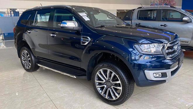 Ford bổ sung màu sắc mới cho dòng xe Everest tại thị trường Việt - 2