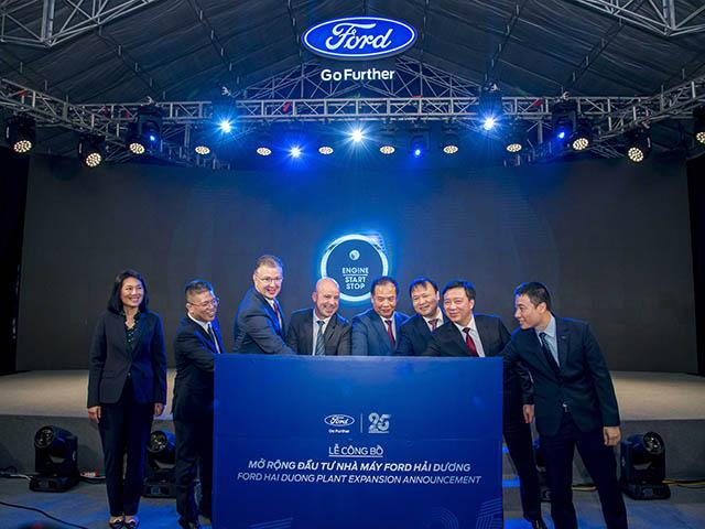 Ford Việt Nam mở rộng nhà máy tại Hải Dương với gói đầu tư khủng