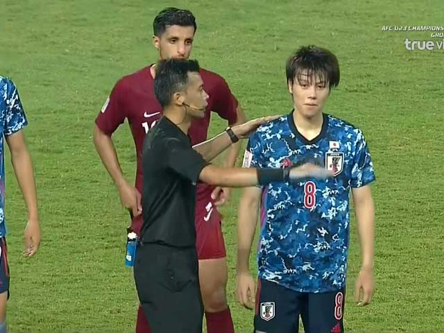 Video highlight trận U23 Qatar – U23 Nhật Bản: Thẻ đỏ tranh cãi, khó thoát số phận - 1