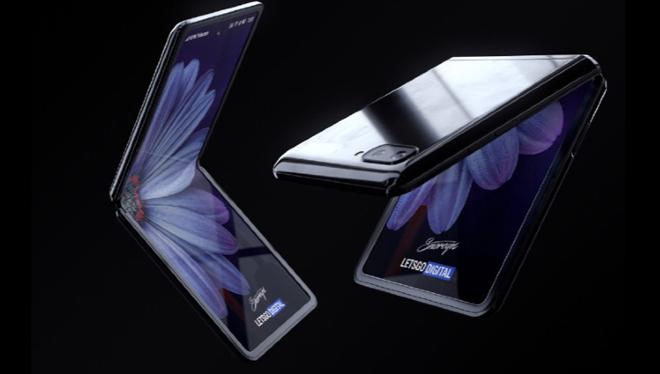 """Galaxy Z Flip sẽ có màn hình gập lại """"độc nhất vô nhị"""" - 2"""