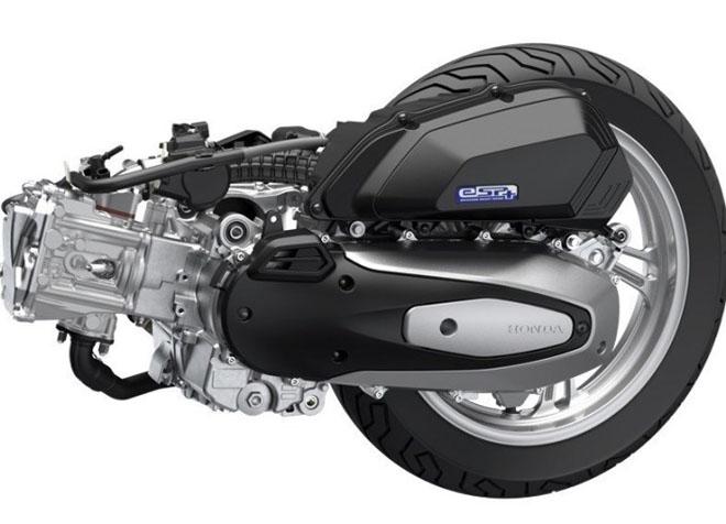 """Khám phá động cơ """"mới toanh"""" trên Honda PCX 157cc sắp trình làng - 2"""
