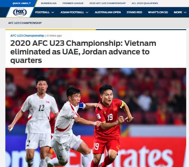 """U23 Việt Nam dừng bước: Báo Thái, truyền thông châu Á """"xát muối nỗi đau"""" - 3"""