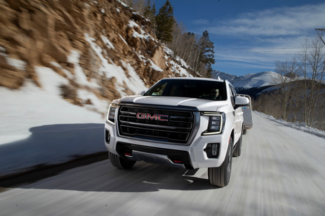 GMC introduces new generation Yukon large SUV in North America