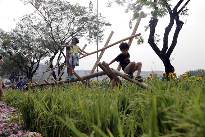 """Say đắm ngắm hình ảnh đậm chất làng quê tràn về """"phố nhà giàu"""" ở Sài Gòn - 10"""