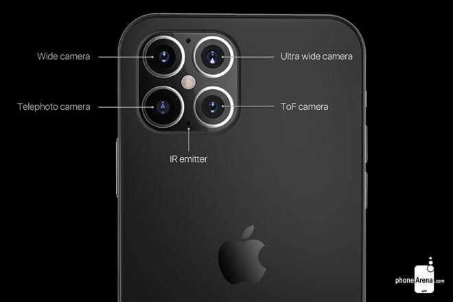 iPhone 12 sẽ thay các kiến trúc sư quét các vật thể 3 chiều - 1