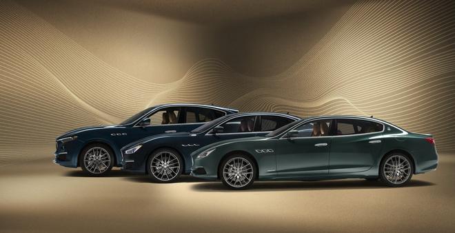 Maserati ra mắt bộ ba Quattroporte, Levante và Ghibli đặc biệt - 1