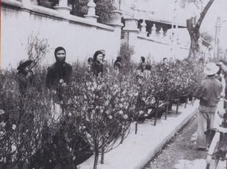 chợ hoa Hàng Lược xưa