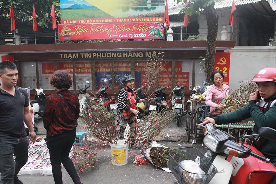 Cận Tết, bồi hồi ngắm lại ảnh chợ hoa Hàng Lược xưa - 12