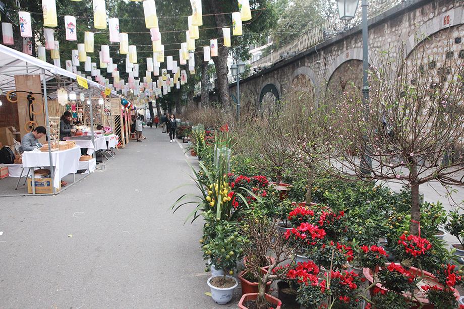 Cận Tết, bồi hồi ngắm lại ảnh chợ hoa Hàng Lược xưa - 13