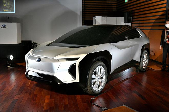 Vén màn mẫu xe thuần điện đầu tiên với sự kết hợp của Toyota và Subaru